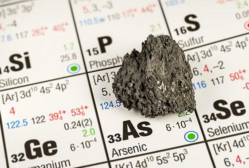 problema arsenico nell'acqua