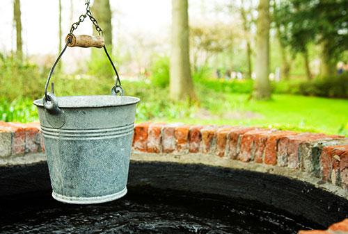 l'acqua di pozzo