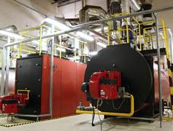 Boiler room water
