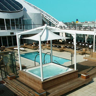 Swimming Pools for marine and cruiseships