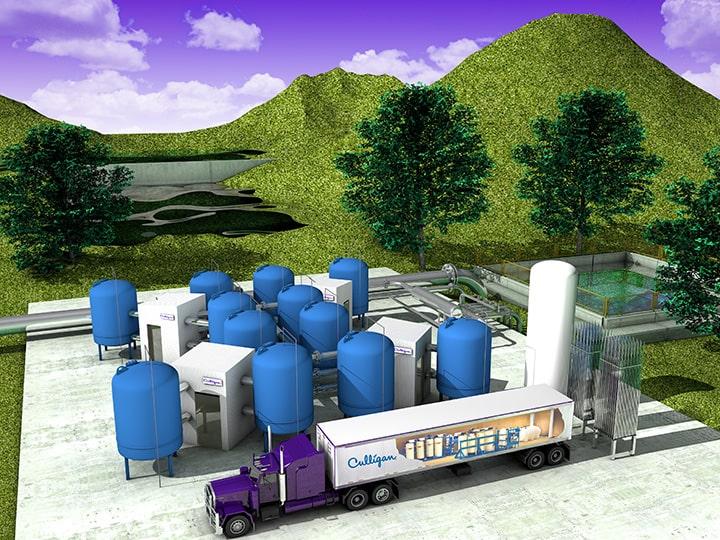 Impianti trattamento acqua per municipale