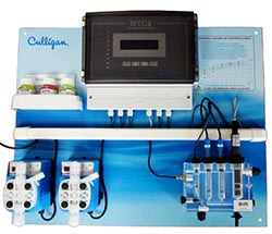 Instruments and Dosing systems swimming pools